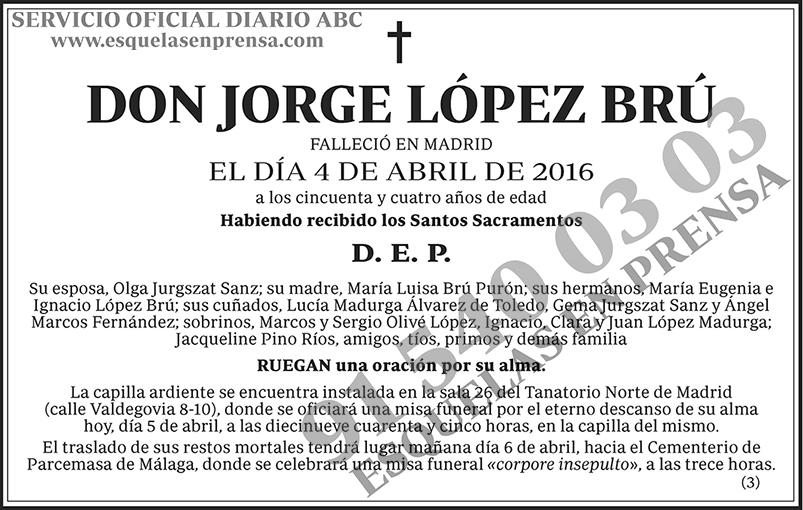 Jorge López Brú